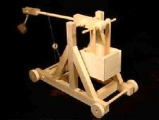 The Trebuchet - Timberkits Self-Assembly Wooden Construction Moving Model Kit