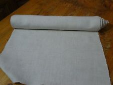 A Homespun Linen Hemp/Flax Yardage 7 Yards x 19'' Plain  # 8310