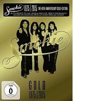 SMOKIE - GOLD: SMOKIE GREATEST HITS 40TH ANNIVERSARY DVD 3 DVD NEUF