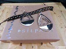 SILPADA W3503 ~ Good Shape Sterling Silver Earrings