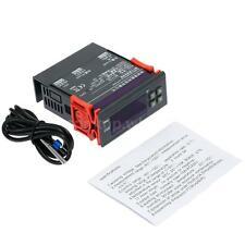 10A 12V Digital Temperature Controller Thermostat  -40℃ to 120℃ w/Sensor Control