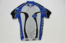 Pearl Izumi Cycling Jersey Blue Men's Size M Made In USA Vintage