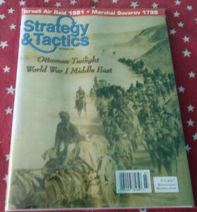 Strategy & Tactics Magazine Decision Games Unpunched #241 Ottoman Twilight