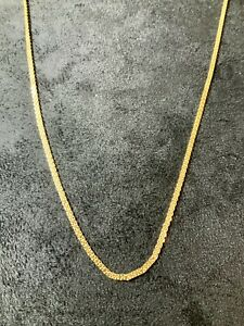 22K 22ct Ladys Woman's Gold Filled 45cms Chain Necklace
