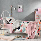ADAIRS KIDS ALEXIS QUILTED DOUBLE bed QUILT DOONA COVER SET NEW REVERSIBLE NEW