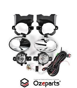 Full Set Fog Light Spot Driving Lamp KIT For Nissan Dualis 2010~2014 J10 Ser 2