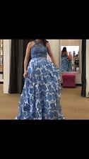 Cinderella Divine 2-Piece Floral Prom Dress, Size 8