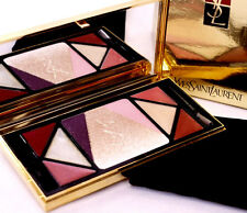 100% AUTHENTIC Exclusive YSL GOLD STAR GLOW SHIMMER HIGHLIGHTER Makeup PALETTE