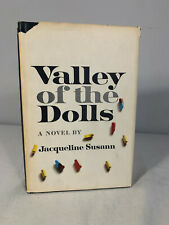 Valley Of The Dolls Hardcover by Jacqueline Susann 1966 Book Club Edition