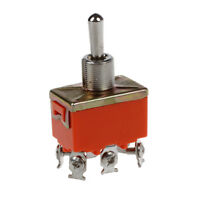 6-Terminals ON/OFF/ON DPDT Toggle Switch AC 250V 15A J7O9