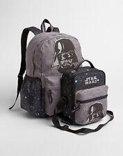 GAP KIDS BOYS GIRLS SENIOR BACKPACK LUNCH BAG SCHOOL Dark Vader Star Wars NEW