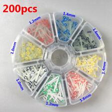 200Pcs Fibra De Vidrio Post Dental Dientes De Cuarzo puestos Reparadora 1.0 1.2 1.4 1.6mm