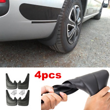 4 pieces Brand New Black Front & Rear Car Molded Splash Guards Mud Flaps Kit