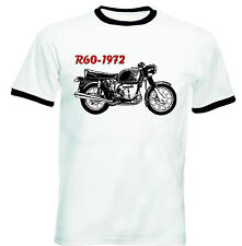 BMW R60 1972 INSPIRED - NEW COTTON TSHIRT - ALL SIZES IN STOCK