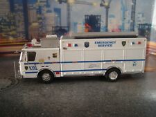 CODE3 KITBASH  NYPD   ESS  E-ONE TRUCK 1/64 SCALE
