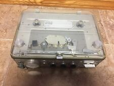 """Nagra IV- BL Kudelski portable 1/4"""" audio recorder working Great See Video"""