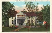 Postcard Will Rogers Birthplace Claremore Oklahoma
