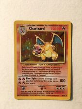 Original Charizard 4/102 Base Set Rare Holographic Card Holo 1999 Good Cond.