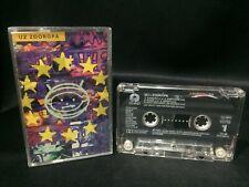 U2 Zooropa Cassette Tape (Island Records 1993) Thailand Release