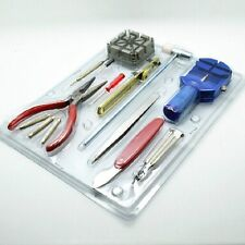16 PC WATCH REPAIR KIT TOOL SET PIN AND BACK REMOVER KIT