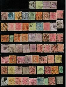 Lot of Victoria(Australia) Old Stamps Used