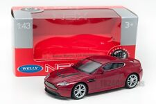 Aston Martin V12 Vantage red, Welly 44035, scale 1:43, model toy car boy gift