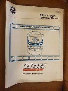 GE Dash 8-40BP Operating Manual (New)