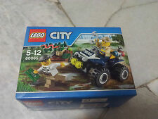 LEGO CITY 60065 Police ATV Patrol New MISB