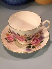 Vintage Regency English Bone China Tea Cup & Saucer Made in England