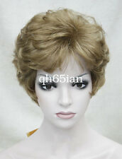 Ladies cosplay wigs Short Curly Women Natural Daily Hair fancy dress wig