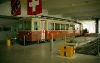 PHOTO  SWITZERLAND MÜRREN 1995 BLM 21 TRAM