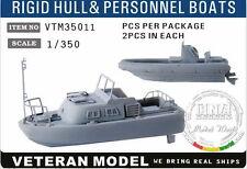 Veteran Models 1/350 Modern US Rigid Hull & Personnel Boats