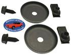 GM Inner Fender Wheel Well Liner House Bolt Washer Nut Factory Correct Set 6p VJ photo