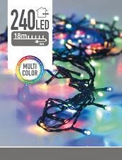 LED-Lichterkette - 240 LED - Multi Color - 21m
