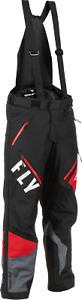 Fly Racing Mens Snow 22 SNX Pro Pant Black/Grey/Red 3XL