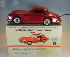 Bandai 4140 Blech Mercedes Benz 300 SL Coupe rot mit Fernlenkung in O-Box #1942