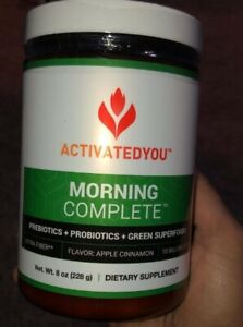 ActivatedYou MORNING COMPLETE FLAVOR APPLE CINNAMON /  Free Shipping