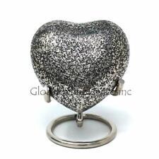 Glenwood Brass  Small Heart Keepsake Urn with Stand