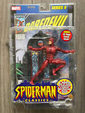"2001 Toy Biz Spider-Man Classics Daredevil 6"" Figure - Mint In Shell"