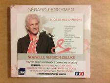 CD + DVD / GERARD LENORMAN / DUOS DE MES CHANSONS / NEUF SOUS CELLO