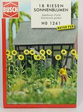 5 colors plants OO//HO Garden Scenery kit Busch 1205 free post F1 120 roses