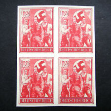 Germany Nazi 1938 1939 1940 Stamps MINT Block Swastika Eagle WWII Third Reich Ge