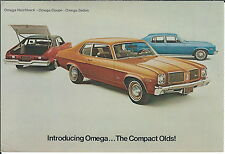 MA-063 - 1973 Olds Omega, Wyant Oldsmobile, Marion, IN, Advertising Postcard
