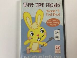 """BRAND NEW"" Happy Tree Friends - Vol. 1: First Blood DVD FACTORY SEALED"