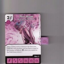 DICE MASTERS DC WAR OF LIGHT COMMON #58 MIRI RIAM BEACON IN DARK CARD & DICE