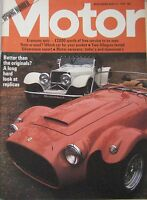 Motor magazine 13/4/1974 featuring Austin Allegro road test, Ford Capri RS3100