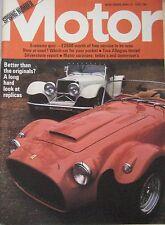 Motor magazine 13/4/1974 featuring Austin Allegro road test, Ford Capri RS3100