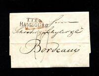 """Hamburg 1830, L2 """"TT.R.4-Hambourg""""  sehr klar      (#6448)"""