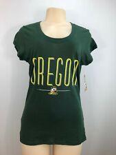 University of Oregon Ducks Licensed Women's Short Sleeve Shirt NWT Football