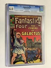 Fantastic Four 48 cgc 6.0 ow pages marvel silver age 1st silver surfer galactus